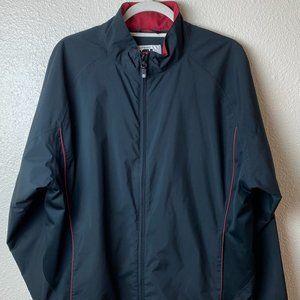 FJ DRYJOYS Women's Black & Red Windbreaker Jacket